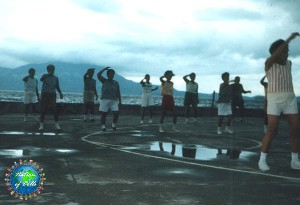 Aerobics at dawn